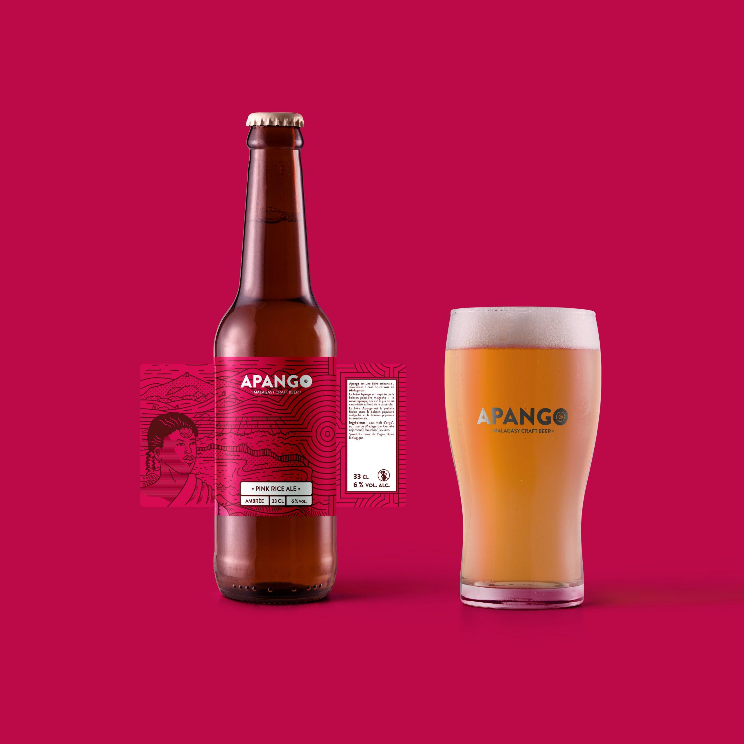 Apango, une bière artisanale lancée en France, fabriquée par un malgache